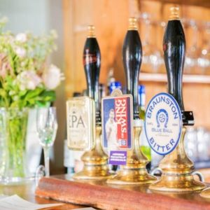 Cask Marque Award real ales at The Blue Ball at Braunston Oakham Rutland Pub Restaurant