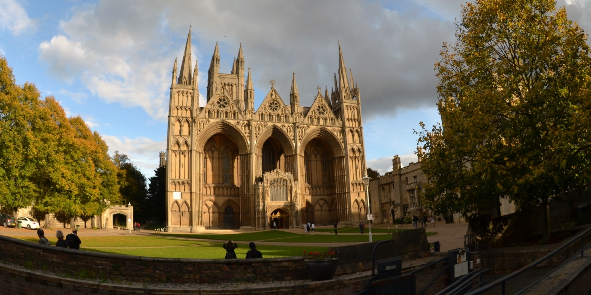 The West Front of Peterborough Cathedral
