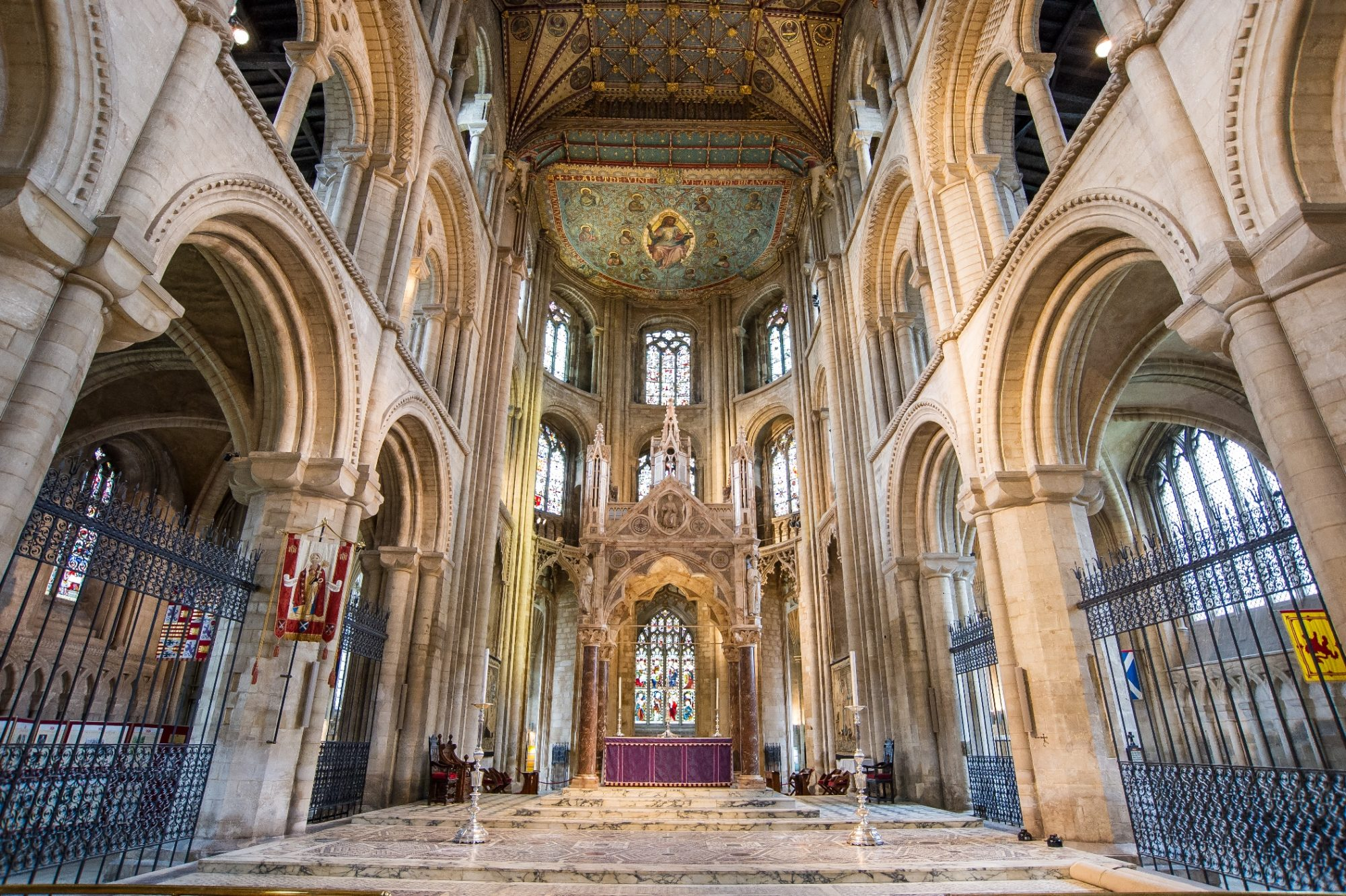The High Altar at Peterborough Cathedral