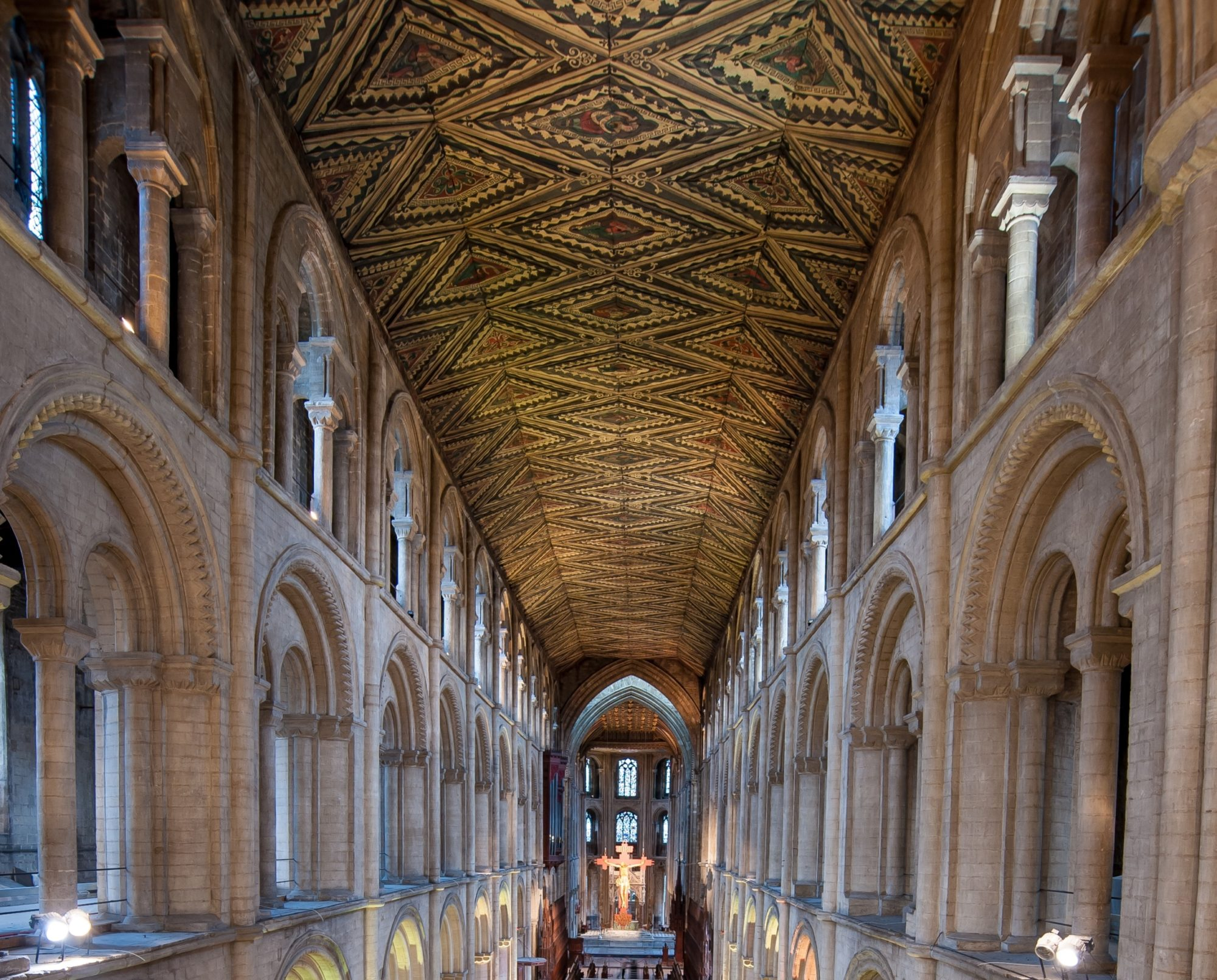 Peterborough Cathedral Nave
