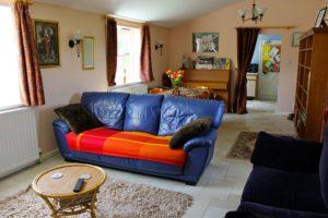 The Cat Basket cottage, Oakham, sitting room