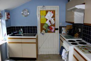 The Cat Basket cottage, Oakham, kitchen
