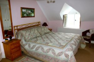 The Cat Basket cottage, Oakham, bedroom