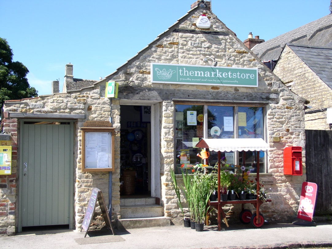 Market Overton Village shop