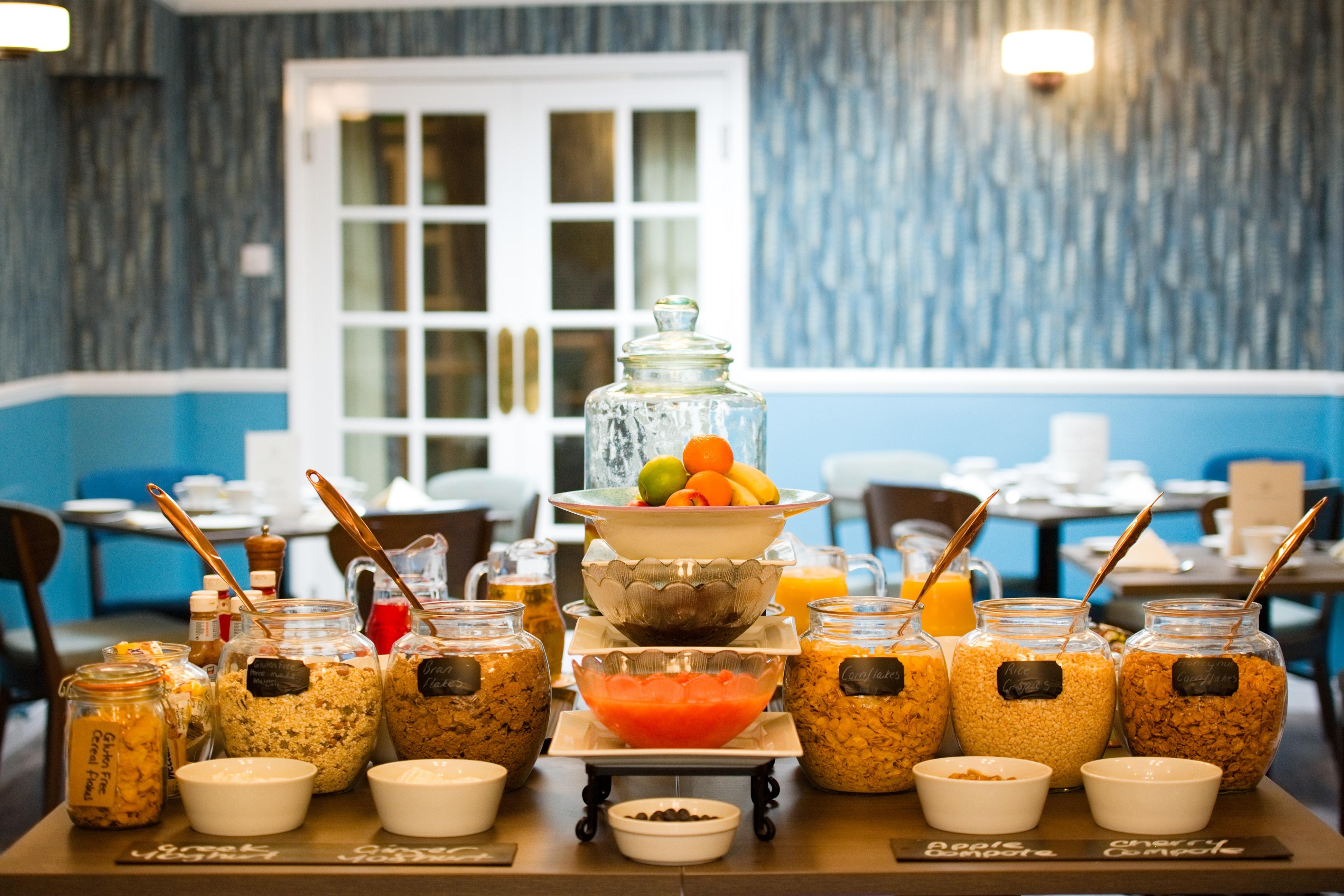 Wisteria Hotel Breakfast