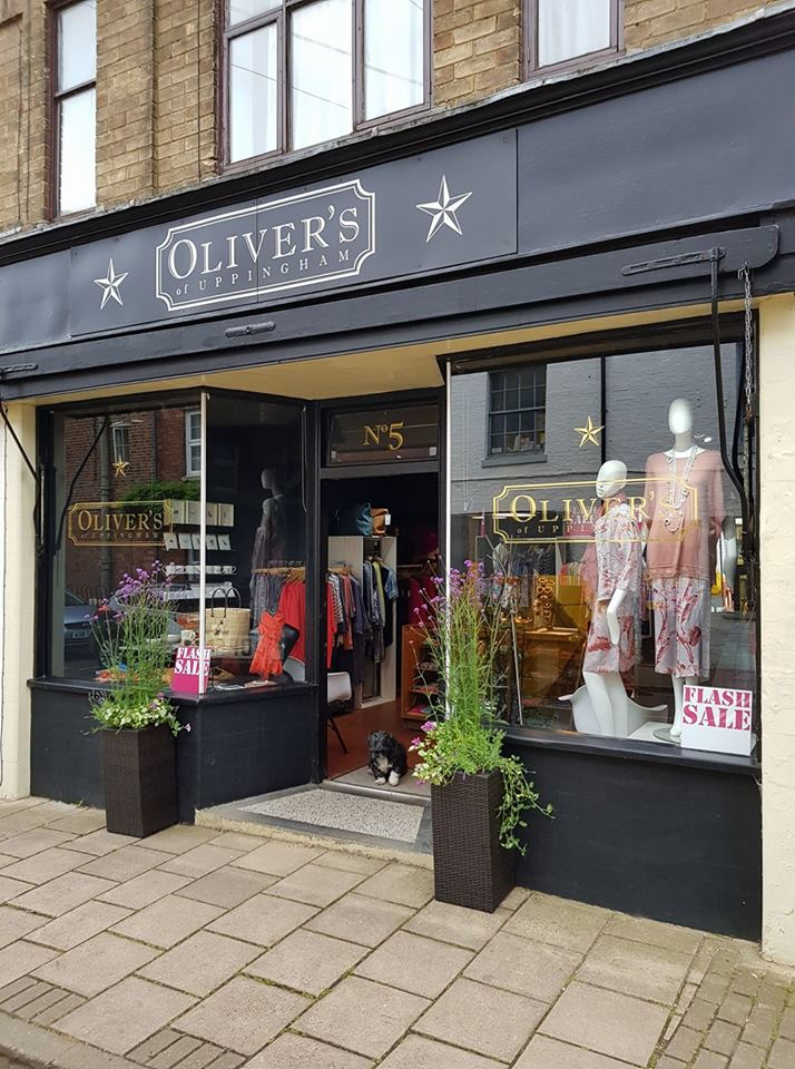 Olivers of Uppingham retail shop