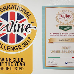 IWC wine club of the year shortlisted and best italian wine list finalist