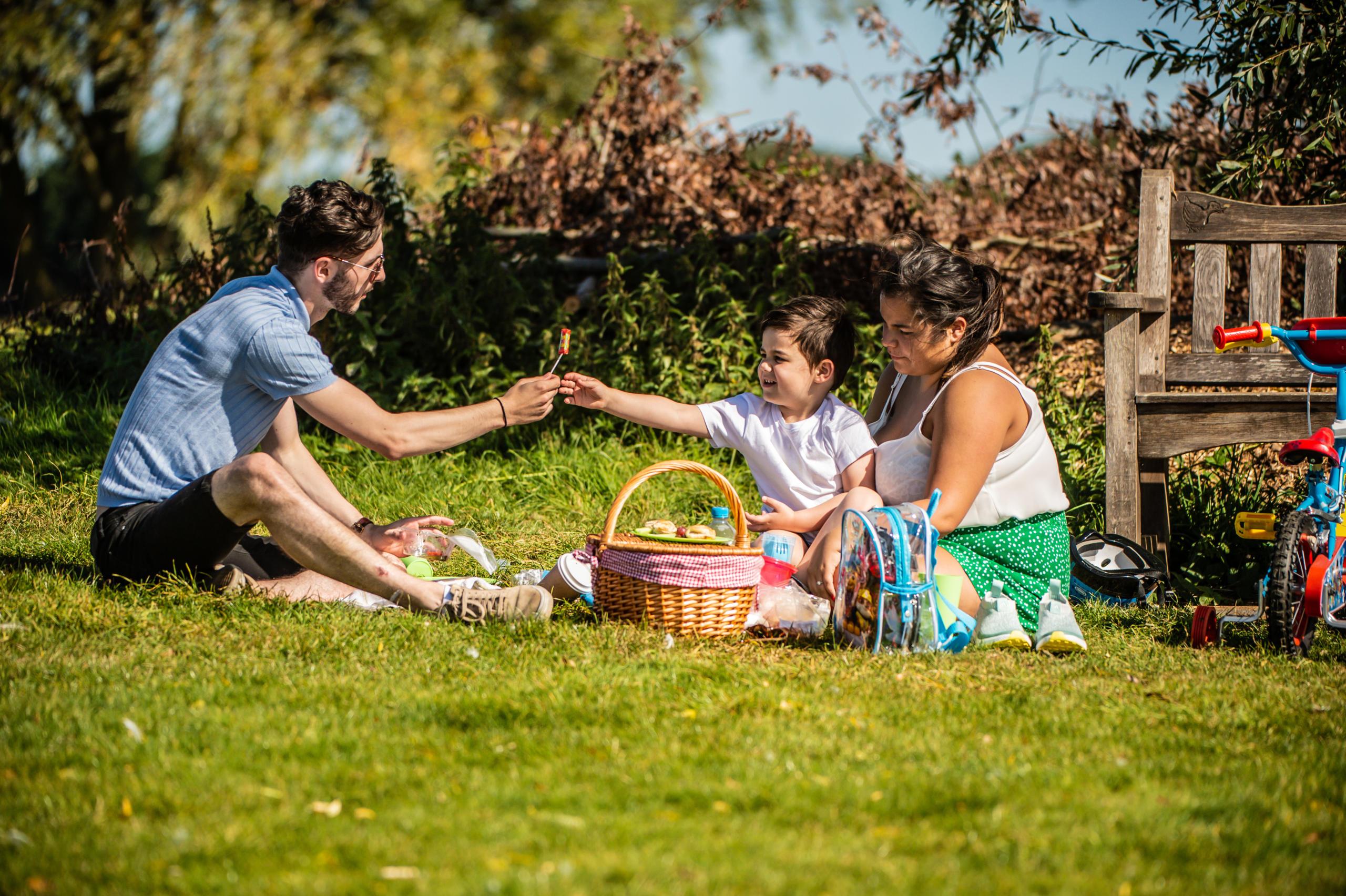Rutland Water Family picnic