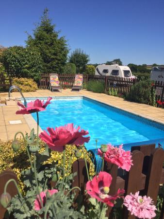 Greendale Farm Caravan site pool