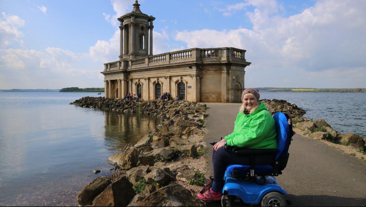 Wheelchair friendly walk