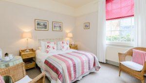 Garden Hotel Uppingham bedroom