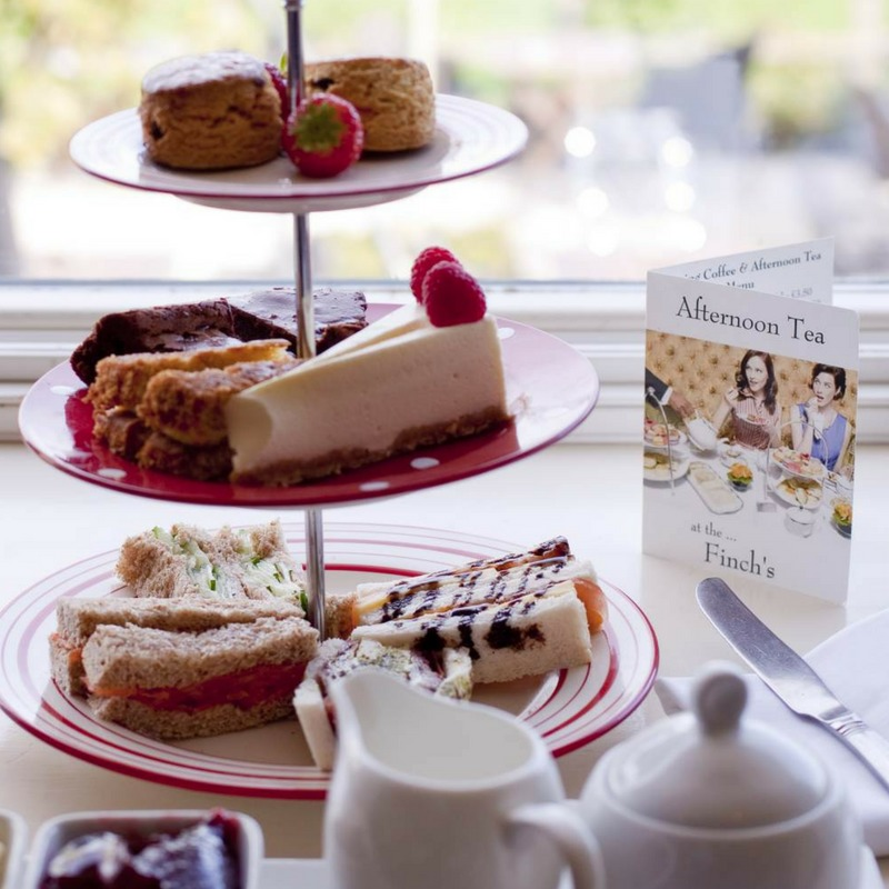 Finch's afternoon tea