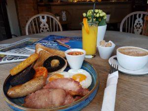 Hornblower breakfast