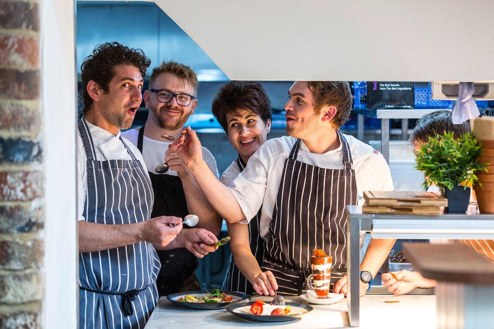 Hornblower chefs