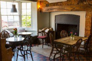 Hornblower fireplace