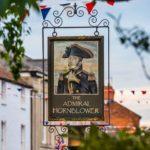 Admiral Hornblower sign