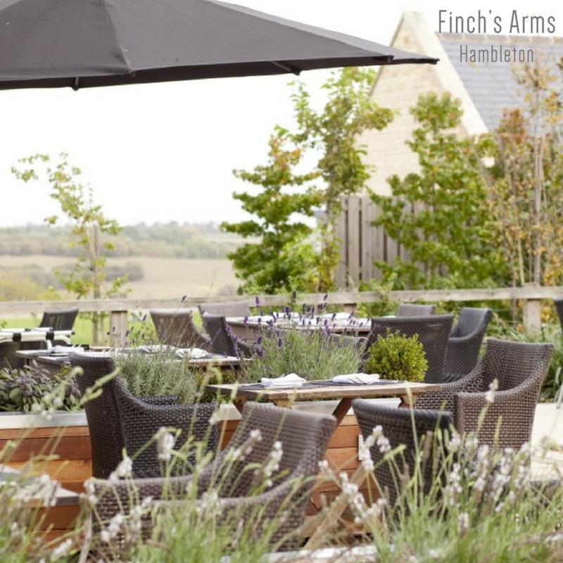 Finch's Arms terrace