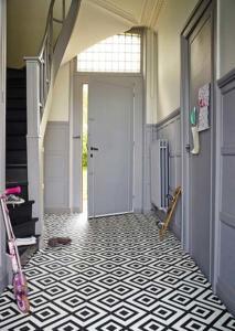 Uppingham Carpets hallway floor