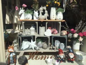 Lola Wood Uppingham Shop, display