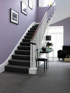 Uppingham Carpets stairs