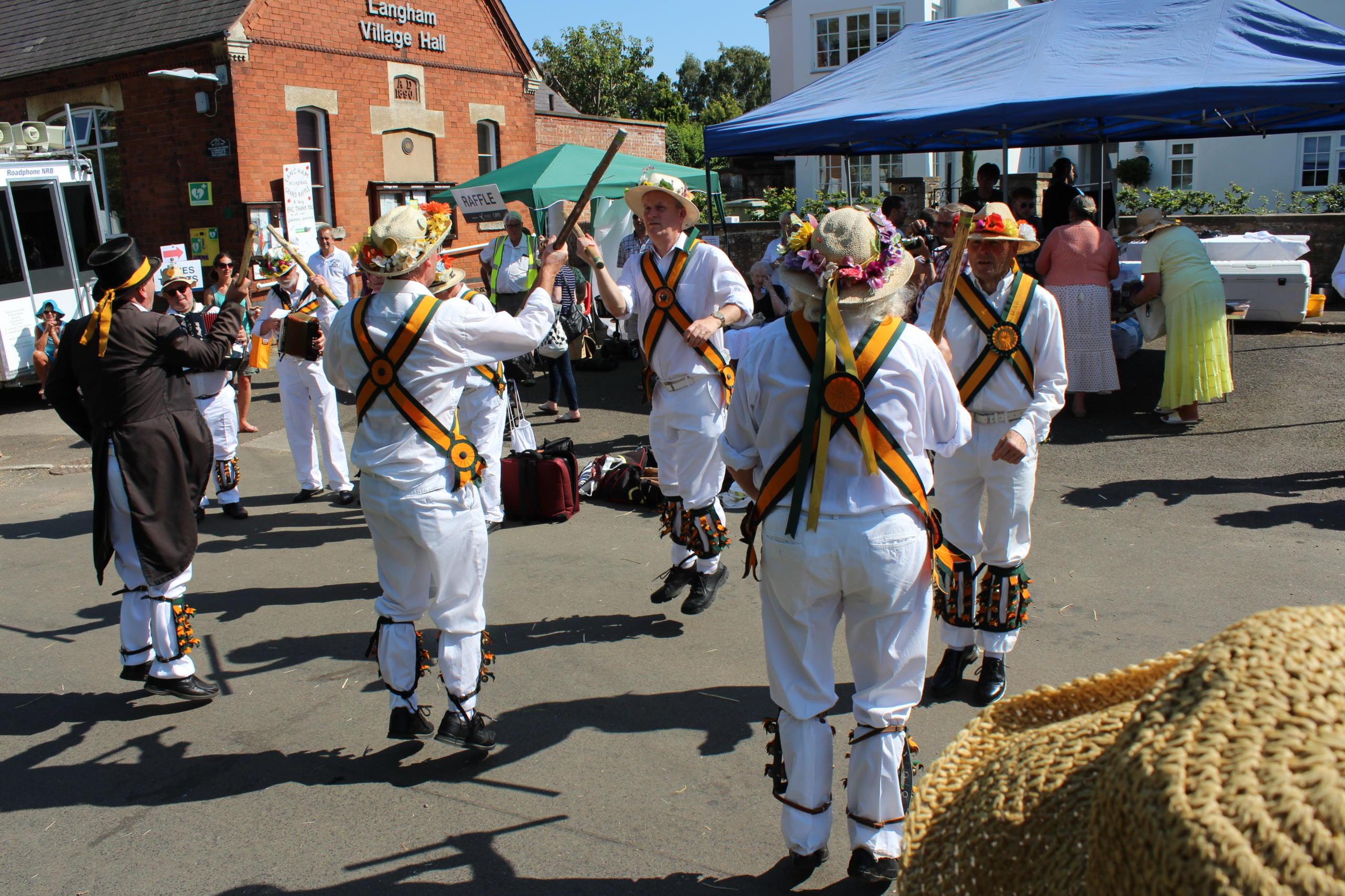 Langham Street Market event Morris Dancers
