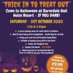 Barnsdale Hall Halloween event