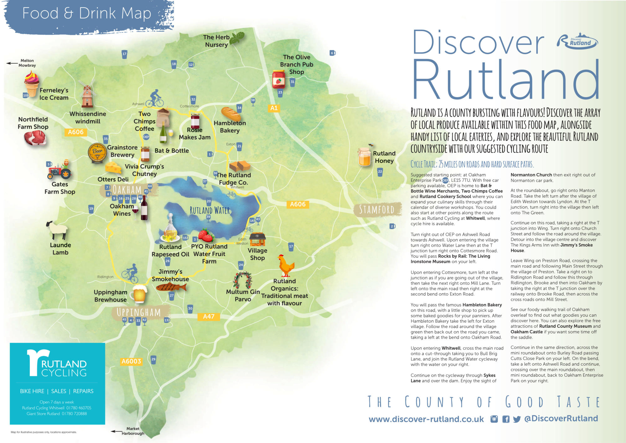 Rutland food and drink trail