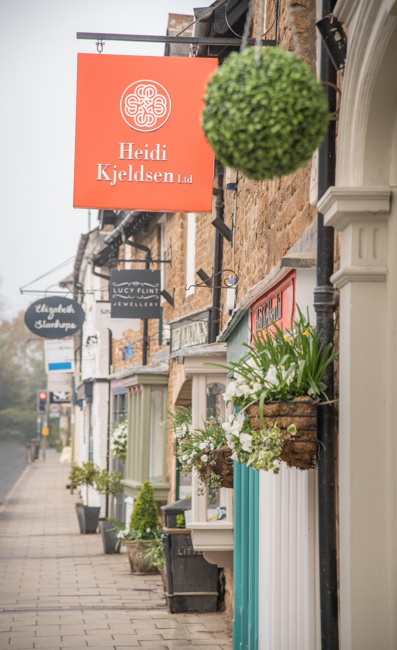 Mill Street Oakham Heidi shop
