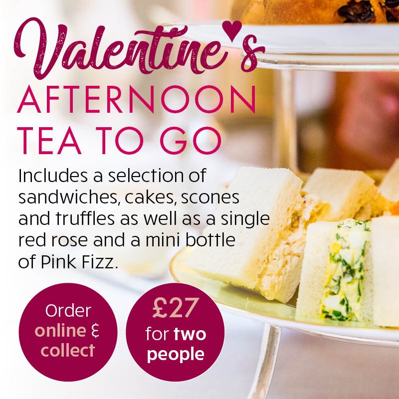 Valentines' Afternoon Tea To Go